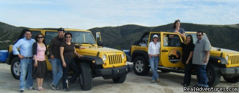 Jeep wine tasting tour