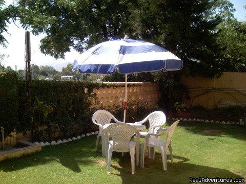 Lawn - NewCapeGrace Guest House - NewCapeGrace Guest House,Hotels IslamabaD Pakistan