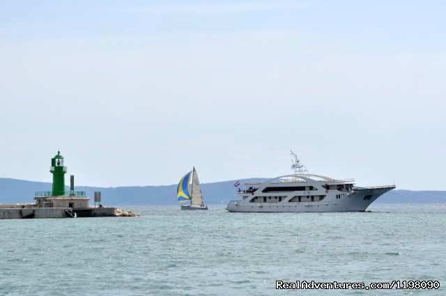 - Croatian coast cruising on M/Y President