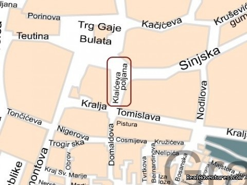 Map - Studio apartment Exclusive Centre