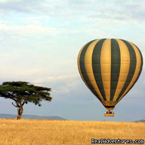 Balloon safaris Serengeti - Tanzania tours, African safaris destination