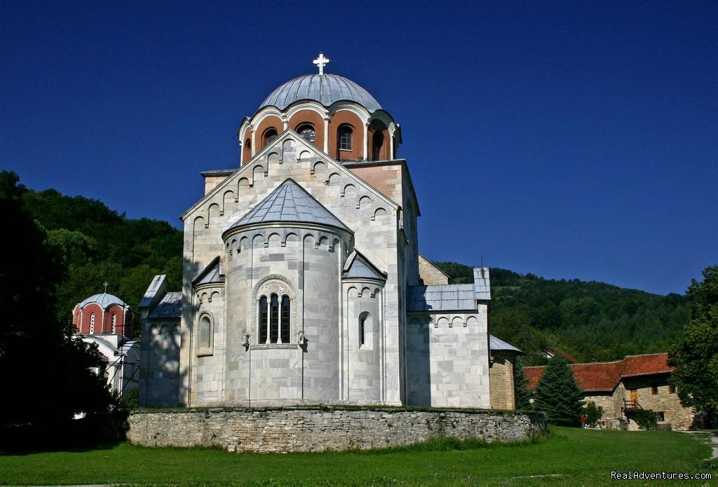Cultural tours in Serbia visiting Medieval Monasteries and amazing UNESCO sights including delicious Serbian food and unbeatable