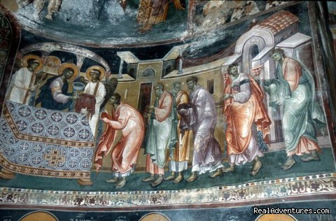 Studenica Monastery fresco - Serbia Wonderland Cultural tours
