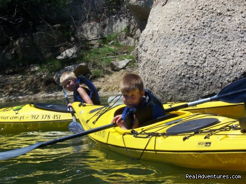 Image #3 of 15 - Rock and River: Kayaking & Rock Climbing  Safaris
