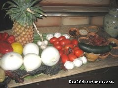 Delicious fresh fruits and vegetables. - Culinary Adventure on the Sea of Cortez