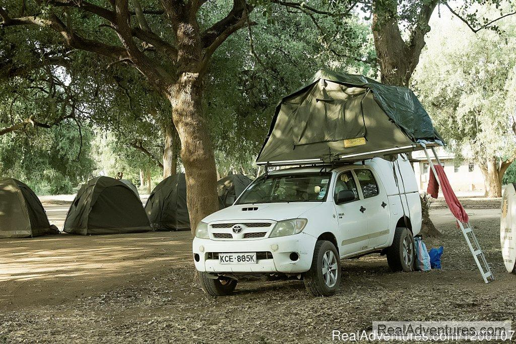 Toyota Hilux With Roof Tent