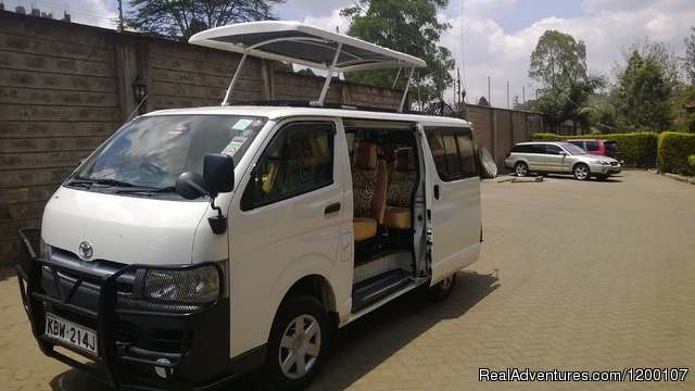 Safari Vehicle, Tour Van, Adventure  Safari - Camper Hire,RoofTent Hire,4x4 Kenya,Kenya Car Hire