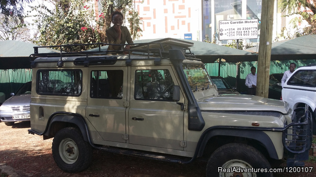 4X4 Self Drive Adventure,  Land Rover Defender - Roof Tent Hire  Kenya,Camper Hire Kenia,4x4 Kenya,