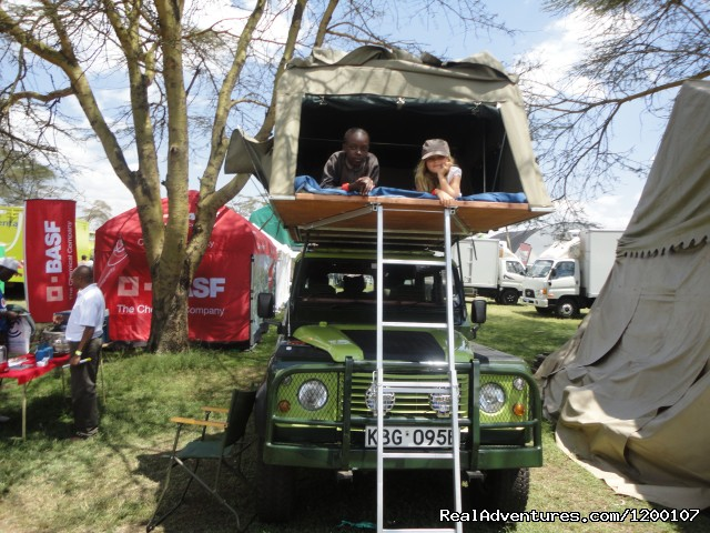 Land Rover Defender with Rooftent,Camper Hire,Self Drive - Roof Tent Hire  Kenya,Camper Hire Kenia,4x4 Kenya,