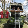 Land Rover Defender with Rooftent,Camper Hire,Self Drive