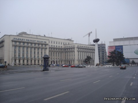 Bucharest - Revolution Square - My Beautiful Romania - 12 days / 11 nights