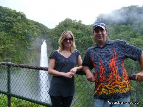 Akaka Falls, Avril and Tyco - Amazing Volcano & East Hawaii Tours with Tyco