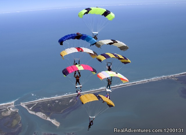Image #10 of 10 - Skydive over the Florida Coastline