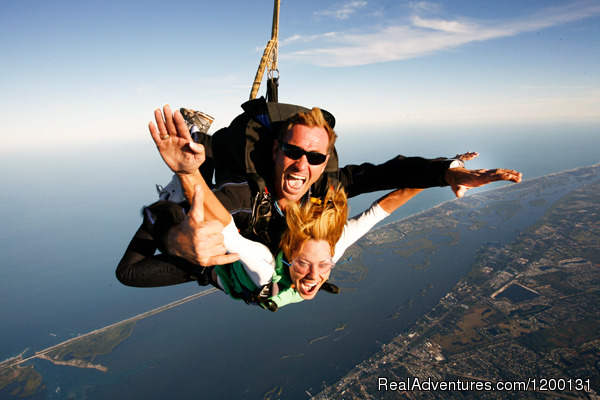 - Skydive over the Florida Coastline
