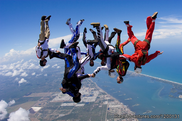Image #6 of 10 - Skydive over the Florida Coastline