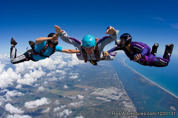 Image #5 of 10 - Skydive over the Florida Coastline
