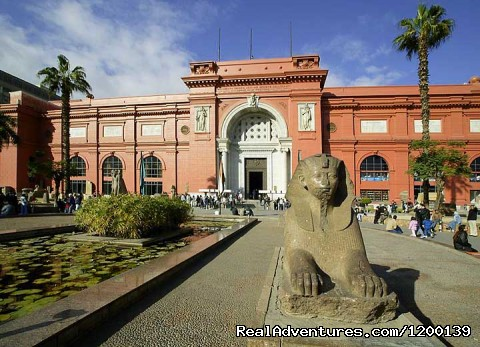 Egyptian Museum Egypt - Day trip to Cairo Pyramids from Sharm by flight