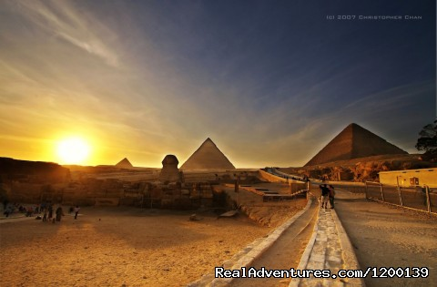 Pyramids of Giza - Day trip to Cairo Pyramids from Sharm by flight
