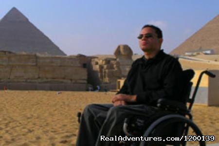 Accessible Travelers - Day trip to Cairo Pyramids from Sharm by flight