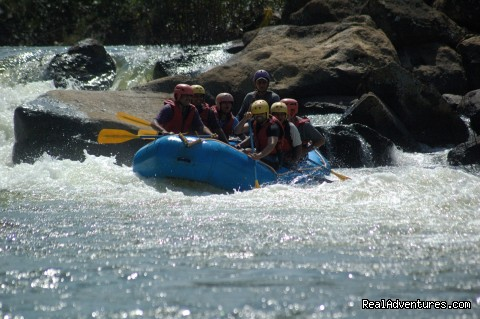 The Barapole White Water Experience !!