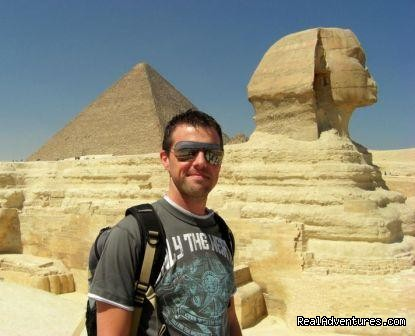 Day Trip To Cairo Pyramids from Hurghada by flight In front of the Great Sphinx Giza Egypt
