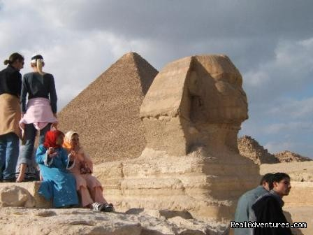 Sphinx Giza - Day Trip To Cairo Pyramids from Hurghada by flight