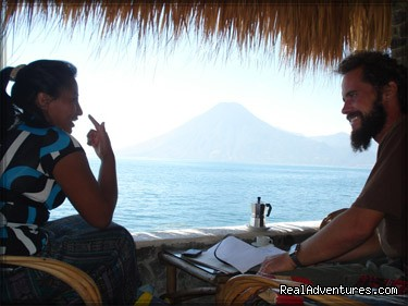 Santa Cruz Spanish School, In Lake Atitlan