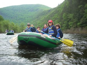 Whitewater Rafting Adventures Nesquehoning, Pennsylvania Rafting Trips