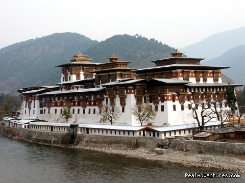 Punakha Dzong - Authentic Bhutan Tours