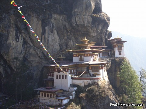 Authentic Bhutan Tours: Taktshang Monastery