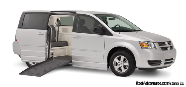 Wheel Transport Van (#1 of 4) - Florida Van Rentals / 12 & 15 Passenger Van Rental