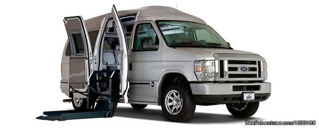 Full Size Transport Vans - Florida Van Rentals - Passenger & Wheelchair Vans