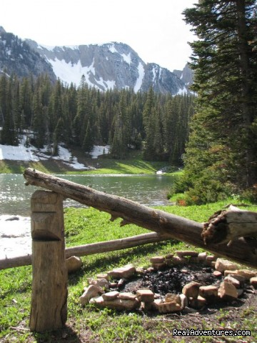 Lakeside Camping - Montana Summer & Winter Vacations