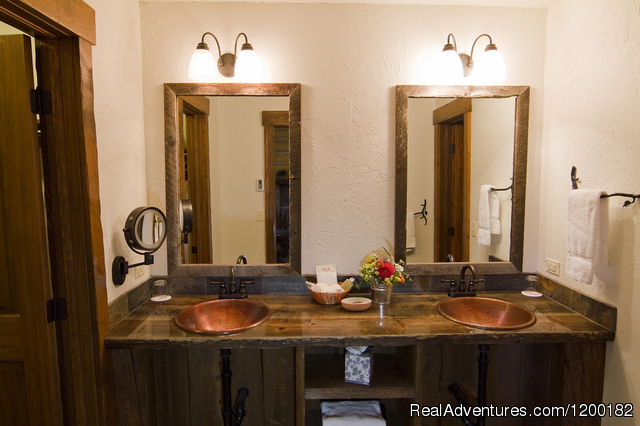Bathroom - C Lazy U Ranch... Colorado's Premier Guest Ranch