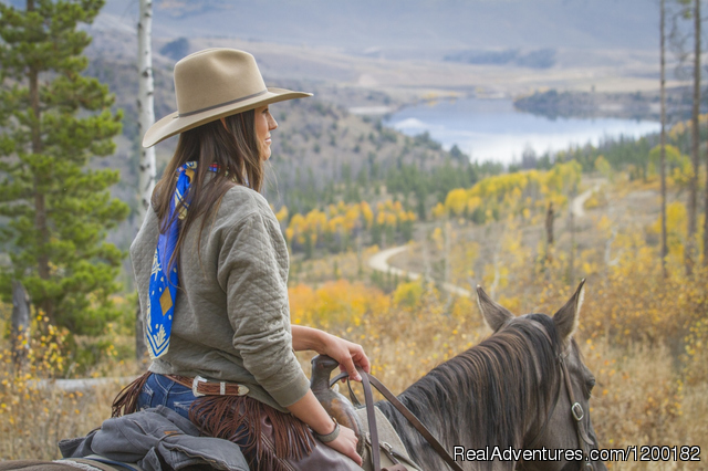 Horseback Riding - C Lazy U Ranch... Colorado's Premier Guest Ranch