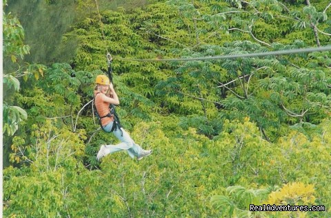 Zip-lining - All Inclusive Womens Retreats - Hanalei Bay, Kauai