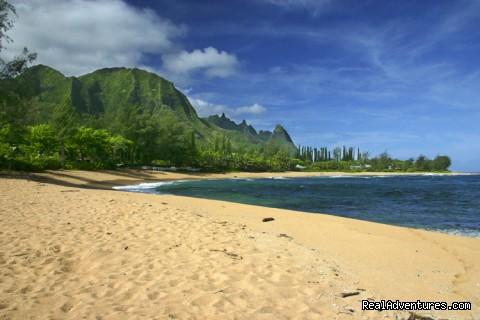 Golden Sands of Tunnels Beach (#12 of 24) - All Inclusive Womens Retreats - Hanalei Bay, Kauai