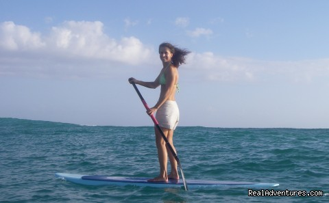 Stand -up Paddling (#14 of 24) - All Inclusive Womens Retreats - Hanalei Bay, Kauai