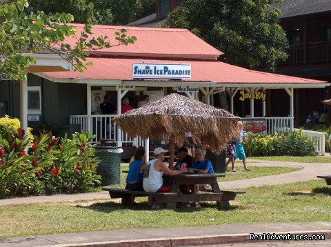 Enjoy a leisurely cup of coffee at our favorite local handou (#18 of 24) - All Inclusive Womens Retreats - Hanalei Bay, Kauai