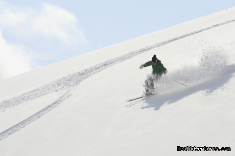 Amazing off piste powder (#2 of 26) - Hakuba Powder Tours - Japanese Skiing at its Best