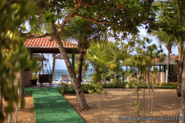 Relaxation area - Brazil holiday and vacation in paradise