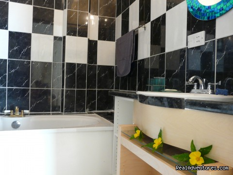 Bathroom - OhLaLa Villas - Skype Ohlala Dominica for Specials
