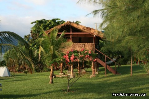 Guestlodge at Lake Bosumtwi, Ghana