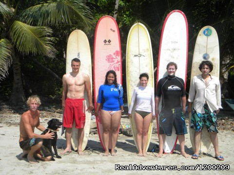 Learn to Surf Costa Rica - Costa Rica Surf Yoga Retreats