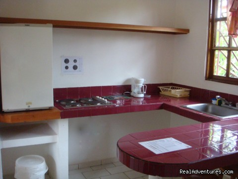 Equipped kitchen - Hotel Villa Creole