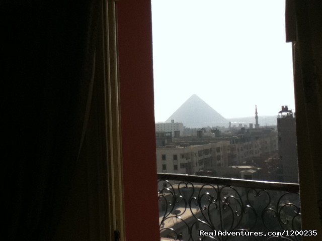 - Balcony Panaramic Pyramid View