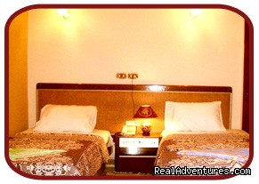 double room - BEDOUIN HOTEL  in the heart of downtown