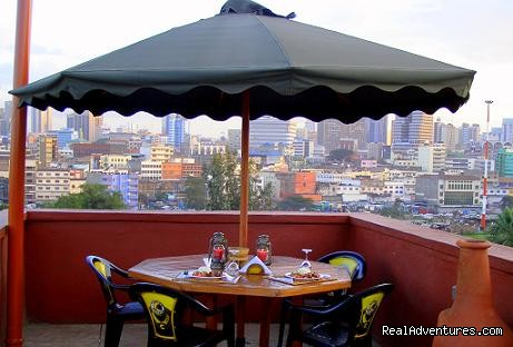 Roof Top Restaurant (#5 of 6) - Bed & Breakfast in Nairobi