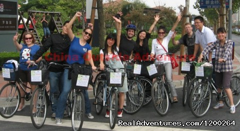 Shanghai Suzhou Hangzhou Yangshuo Bicycle Tours