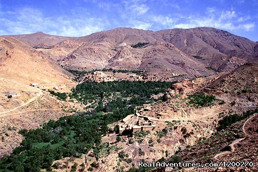 Morocco Mouantain valley in Siroua - Eco tours, hiking & adventures tours Morocco
